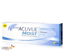 Picture of Acuvue 1-Day Moist for Astigmatism 30pk
